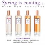 Molinard Les Elements: Jasmin, Rose, Vanilla, Patchouli