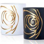 ROSE BLANCHE en ROSE NOIRE geurkaarsen van Les Parfums de Rosine